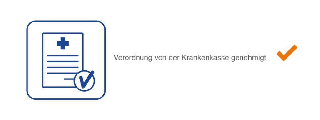 Rehasport-Verordnung von Krankenkasse genehmigen